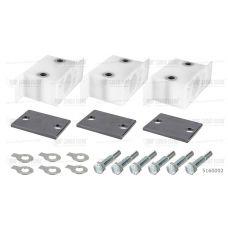 Комплект направляющих кронштейнов для 3 штоков цилиндров